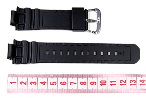Genuine Casio Replacement Watch Strap 10273059 for Casio Watch AWG-M100F-1BD, AW-590-1AW + Other models - 3