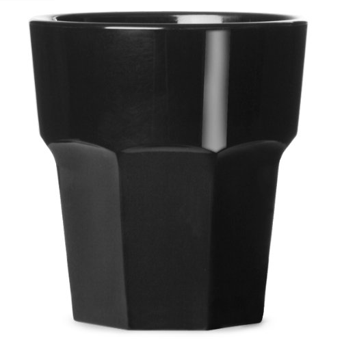 BBP BB 090–1BL ns Rocks Gobelet en polycarbonate, 256 ml, 9 g, Noir (Lot de 36)