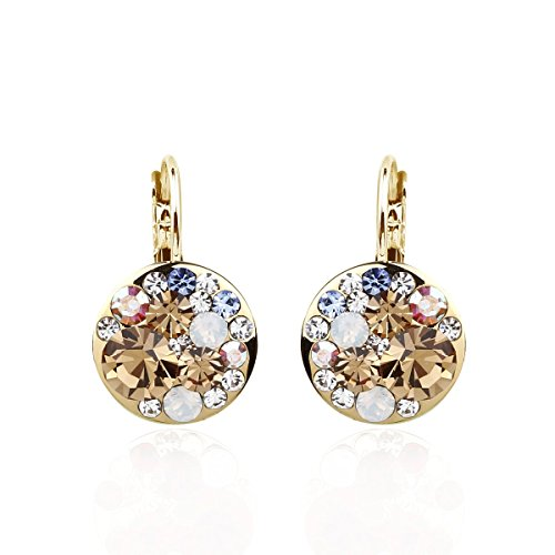 park-avenue-ohrringe-disc-multicolor-gold-made-with-swarovski-elements
