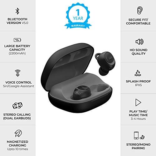 Best Noise Shots X5 Charge  Wireless Bluetooth Earbuds Earphones Online Image 2