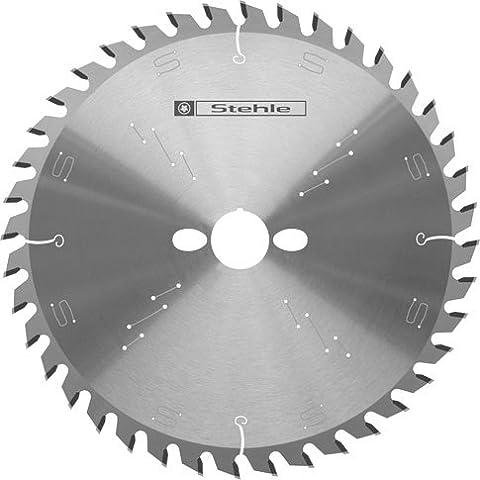 Stele HW (HM) - Lama per sega circolare/manuale per materiali a base di legno, denti alternati 180 x 2,6/1,6 x 16 mm, Z=48