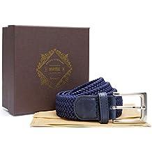Cinturón elástico del London Goods Company, forma parte de la Collection Martell. Incluye Caja de Presentación, varios colores disponibles. Limited Edition / Edición Limitada