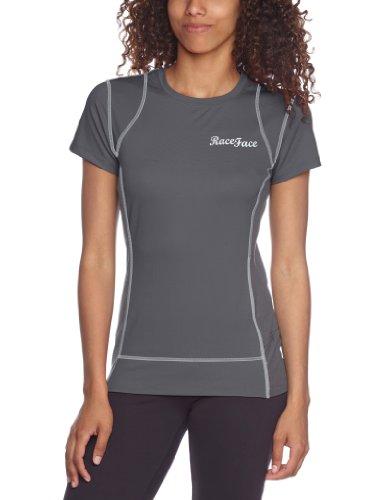 Race Face Piper Jersey T-shirt pour femme Gris - Gris