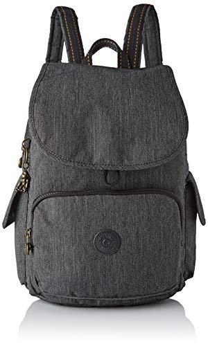 Kipling Damen City Pack Rucksack, Schwarz (Black Indigo), 32x37x18.5 centimeters