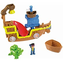 Jake y los piratas - Set de juego, barco pirata para el