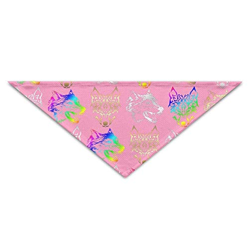 fs Head Pet Puppy Dog Triangle Head Scarf Bandana Bibs Collars Neckerchief ()