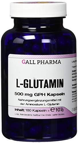 Gall Pharma L-Glutamin 500 mg GPH Kapseln 180 Stück