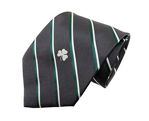 Donegal Bay NCAA Notre Dame Fighting Irish Unisex Irische anthrazit Stripe Tie, grün, One Size