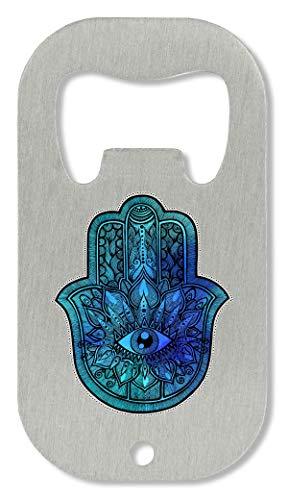 DD HIMSA No Violence Spiritual Collection Eye Flora Pattern Illuminati Simple Shape Flaschenöffner