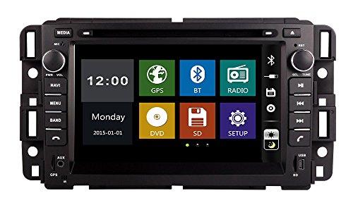 7Zoll Auto-DVD-Player mit GPS-Navigation mit Karte Canbus BT/TV, USB SD AUX, Auto-Radio, Stereo, Multimedia-Headunit GMC Yukon/Tahoe 200720082009201020112012