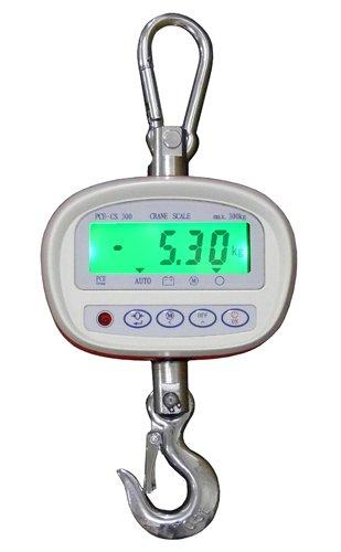 PCE Instruments Kranwaagen PCE-CS 300, max. 300 kg, Kranhakenwaage, Industrie