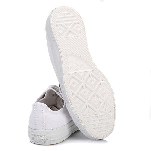 Converse Chuck Taylor All Star, Sneakers Unisex - Adulto Bianco (White Mono Canvas)
