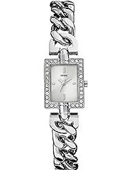 Guess Damen-Armbanduhr Analog Quarz Edelstahl W0540L1