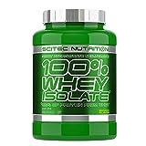 Scitec Nutrition 100% Whey Isolate, Suplimento Nutricional de Proteinas con Sabor de Banana - 2 kg