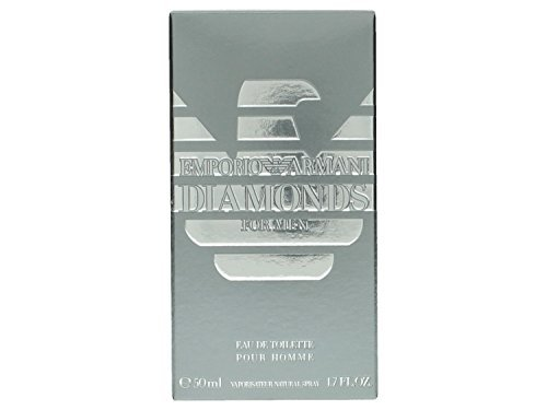 Emporio Armani Diamonds by Giorgio Armani for Men Eau De Toilette Spray, 1.7-Ounce