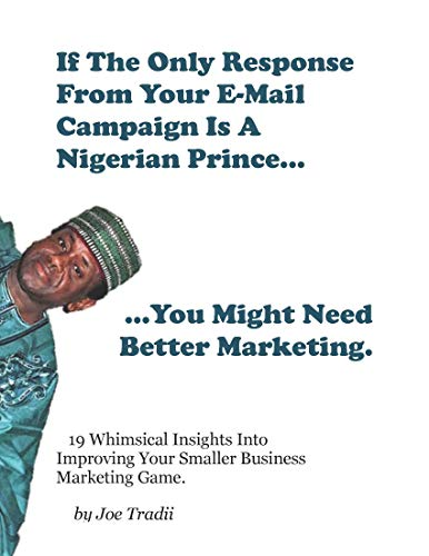 If The Only Response From Your E-Mail Campaign Is From A Nigerian Prince...: You Might Need Better Marketing (English Edition)