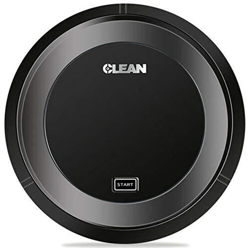 YRYH Robot arrebatador Inteligente de la Limpieza del hogar de la máquina del Aspirador automático, Conveniente para Las baldosas de mármol y de cerámica/Piso de Madera, etc,Black
