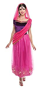 Bristol Novelty Ac225Bollywood Costume de Lady, taille 10–14