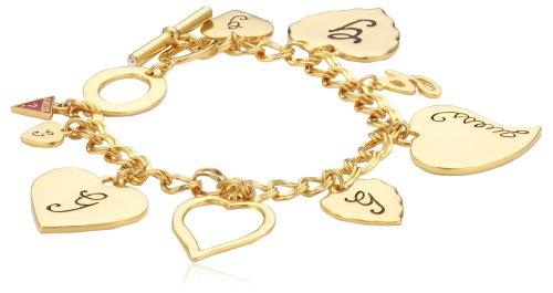 Guess ub306601 - bracciale da donna, metallo senza nichel, placcato oro