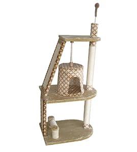 Cat Scratcher, Cat Activity Centre - Tower (144cm) from Gor Pets