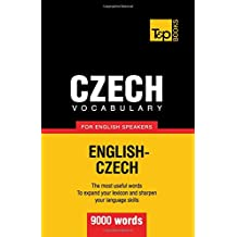 Czech vocabulary for English speakers - 9000 words