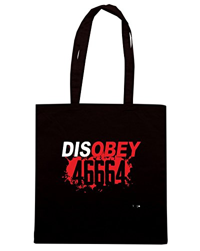 T-Shirtshock - Borsa Shopping WC0170 46664 DISOBEY Nero