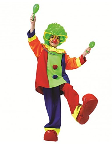 Clown Kost�m f�r Kinder, Gr. 116, 4-5 (Kinder Cute Boy Kostüme Clown)