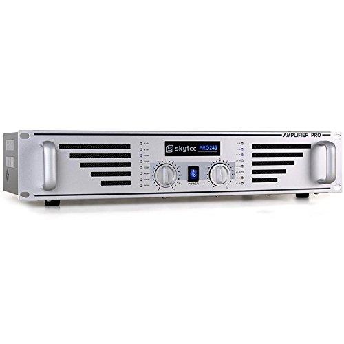 Skytec PA-240 480 Watt DJ PA-Verstärker Endstufe Amplifier