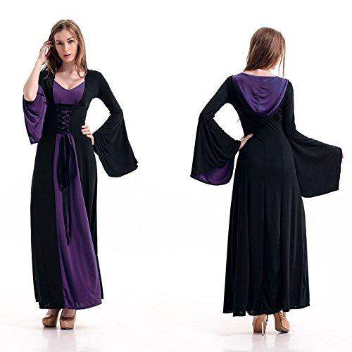 Kleider Mittelalterliche Sexy (DLucc Spieluniformen mittelalterlichen Adels Palast Prinzessin Kostüm Rollenspiel Bühnenkostüme)