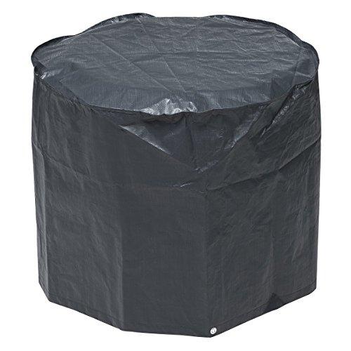Nature Housse de barbecue à charbon 60 x 73 cm PE gris foncé 6030612