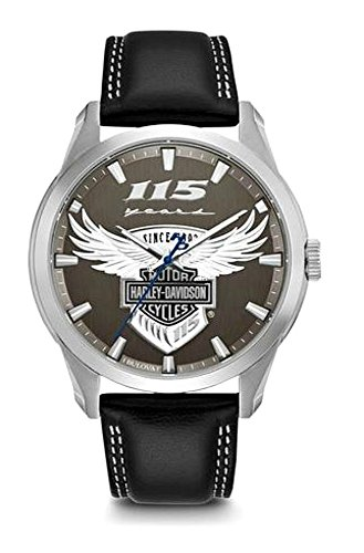 Harley-Davidson Men's 115th Anniversary Limited Edition Watch 76A160