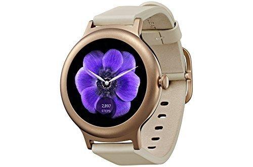 LG reloj Style Lg-w270- Reloj inteligente con Android Wear 2.0(Bluetooth / versión internacional). oro rosa oro rosa