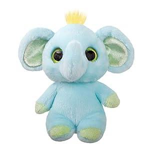 Aurora World 61279 Eden - Peluche de Elefante, Color Azul