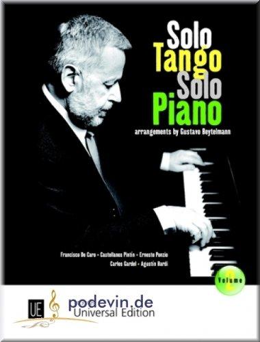 Solo Tango Solo Piano 2 - Klaviernoten [Musiknoten]