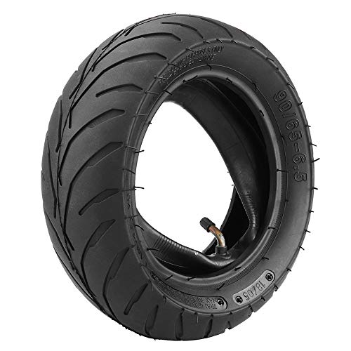 Abilieauty Front Rear Tire+Inner Tube 90/65/6.5 110/50/6.5 for 47cc 49cc Mini Pocket Bike (Tube Auto Inner)