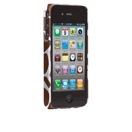 Case-Mate CMIMMC050151 Iomoi iPhone 4/4S UBUD Giraffe Pattern