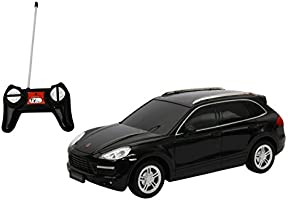 Toyhouse Officially licensed Porche Cayenne 1:24 Scale Model Car, Black
