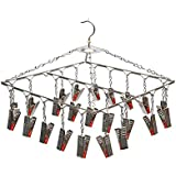 LivingBasics® Heavy Duty Rust Free Cloth Peg/Clothes Clip/Cloth Drying Pins/Pegs for Hanger/Rods/Ropes/Drying Clothes