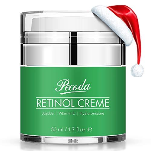 Retinol Feuchtigkeitscreme Creme-2019 Neu-2.5{605961a34df9256e3138b75b0895f6fc718350ed902670b50cb0fc5464173481} Retinol Anti falten/aging Lift Creme für gesicht. Natürliche Hautpflege-Behandlung crème für Frauen und Männer. 50ml