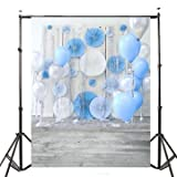 3x5ft Balloon Wall Baby Photography Vinyl Background