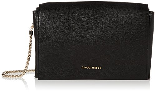 Coccinelle - Elise, Borse a spalla Donna Nero (Noir)