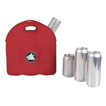 10t Outdoor Equipment 10t Cooler 6 X 500ml Neopren Dosenkühler Flaschenkühler Kühler Getränkekühler Kühltasche Mit Tragegriff 1