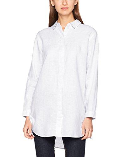 edc by Esprit, Blouse Femme Blanc (White)