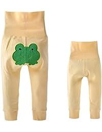 Highdas Bébé Enfant Pantalon modèle animal High Velcro Taille & Coton Bébé Automne Hiver Pantalon Vêtements 9M-3T