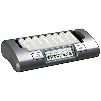 Powerex MH-C800S chargeur professionnel 8 piles AA/AAA NiCd, NiMh