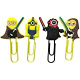 Despicable Me Minions Bookmark clip de papel/Star Wars 2 Set – UK Shipped