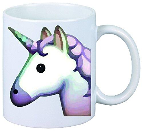 Tasse-de-caf-Horsehead-ou-Unicorn-Pinkes-rose-tte-de-licorne-magique-beaut-85-H-95-cm-Mug-Fun-Tasse-Smiley-Emoji-Astuces-de-Nol