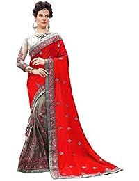 Nivah Fashion K710_P - Red bordada con blusa para mujer