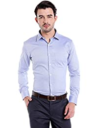 Donear NXG Mens Formal Shirt_SHIRT-1311-BLUE
