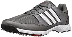 adidas Men s Tech Response Wd Ironmt F Golf Shoe Iron 7.5 2E US